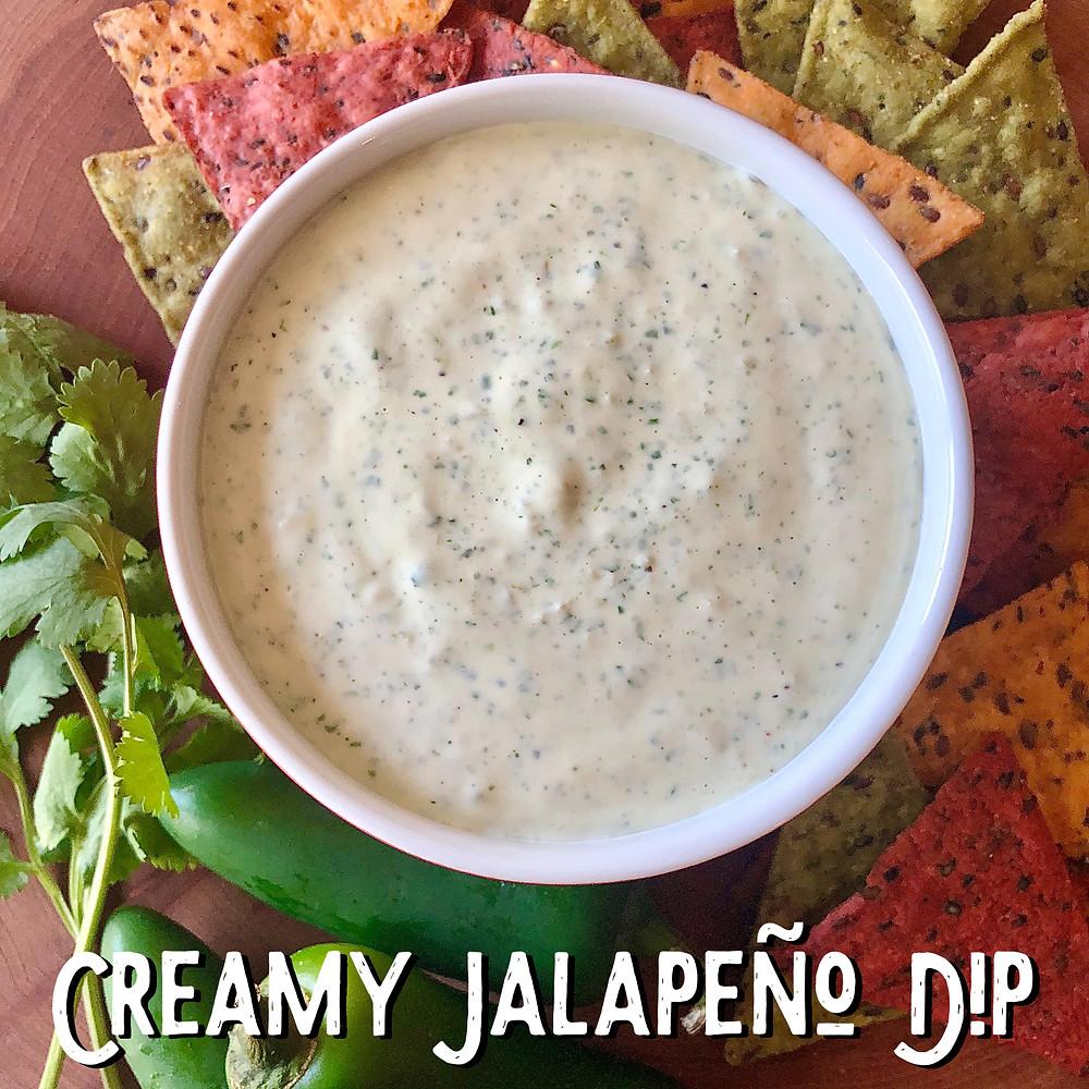 Austin Creamy Jalapeño Dip Recipe
