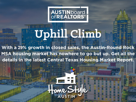 Central Texas October 2020 Housing Statistics