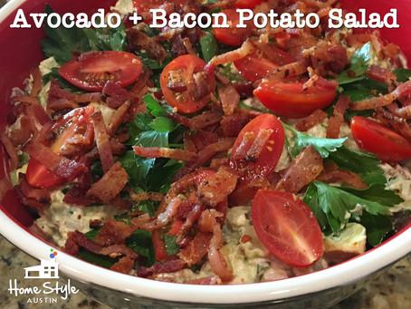 Avocado and Bacon Potato Salad Recipe