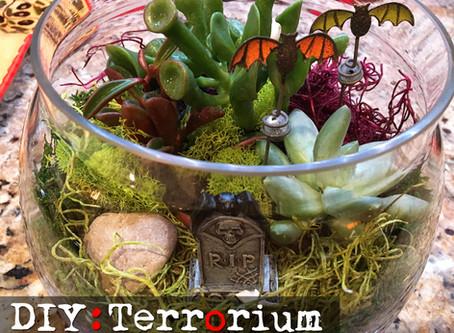 DIY : Halloween Terrarium