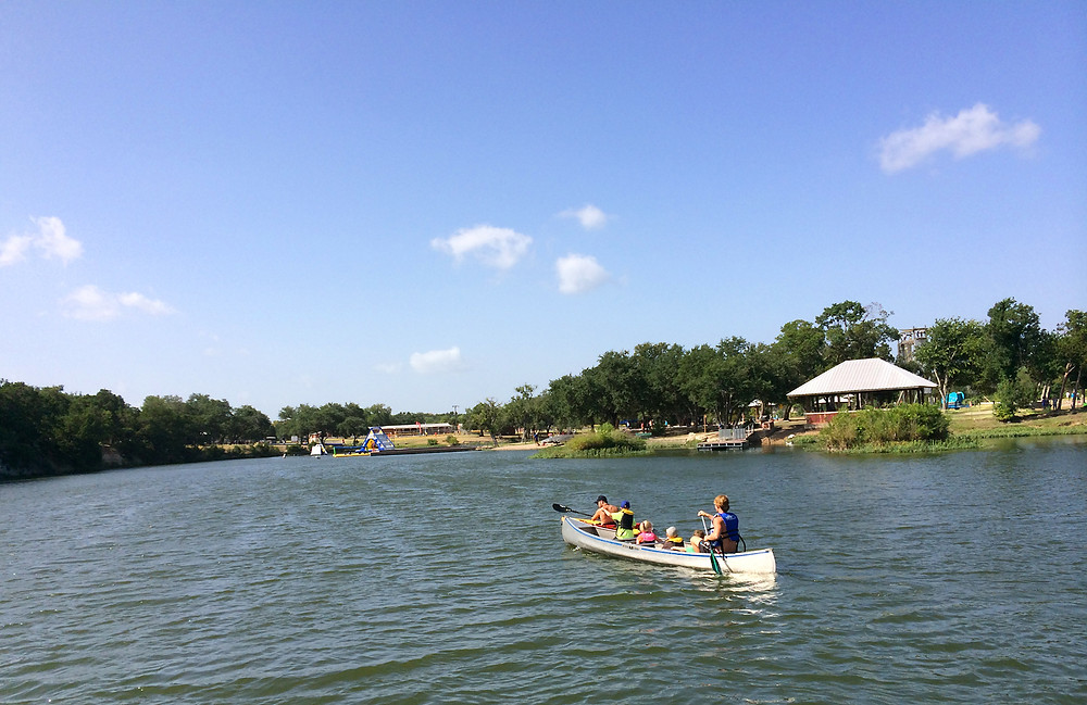 Canoeing At Twin Lakes Park