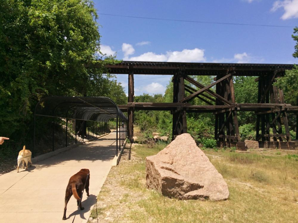 Brushy Creek Regional Trail Granite And The Railroad Line