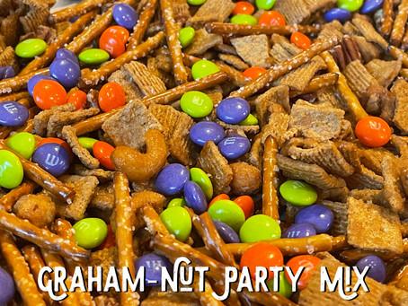 Graham Nut Party Mix