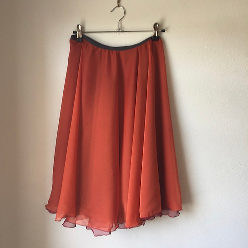 Fire two layer rehearsal skirt