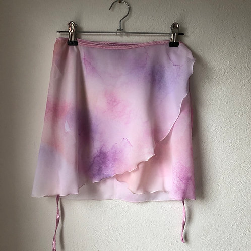 Kanso Watercolour Wrap Skirt