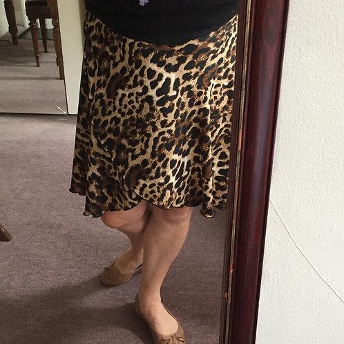 Gene Wrap Skirt