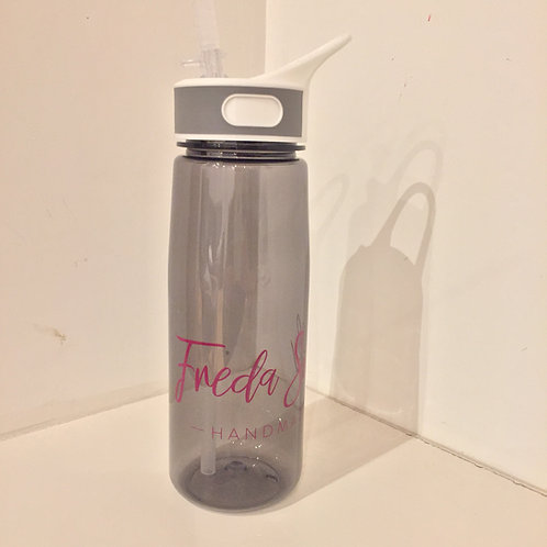 Freda Silk logo water bottle