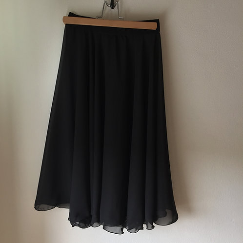 Circle Rehearsal Skirt | Black