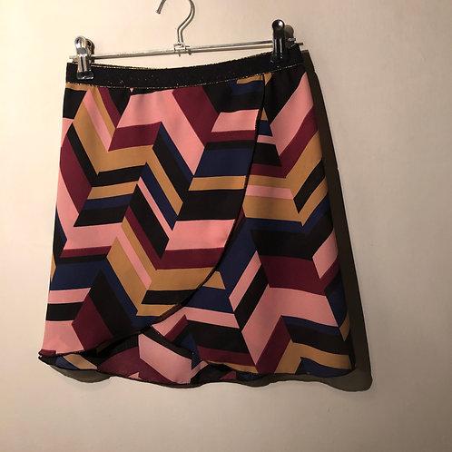 "Retro crossover skirt - size 26"""