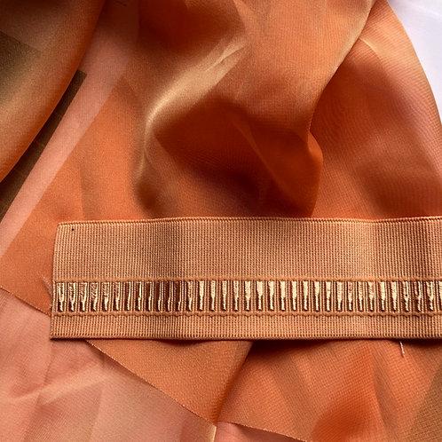 Royale Rehearsal Skirt Iridescent Apricot
