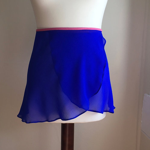 Circle Rehearsal Skirt | Electric Blue