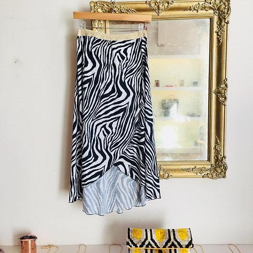 Zebra skirt