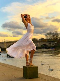 Bella in White Aretha - Ph Jon Raffoul