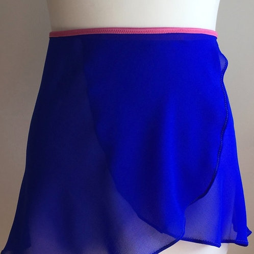 Circle Rehearsal Skirt | Electric Blue