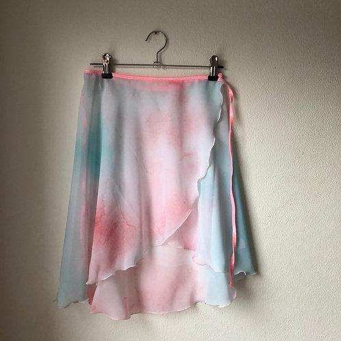 Hokusai Watercolour Wrap Skirt