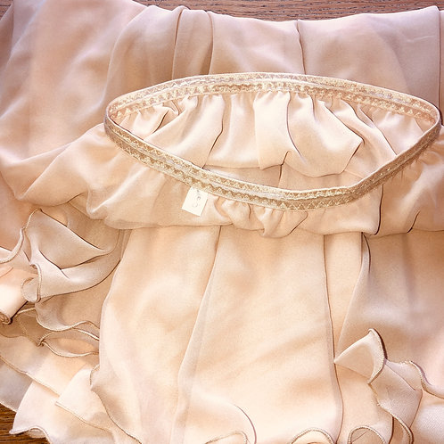 Peach Pie two layer rehearsal skirt