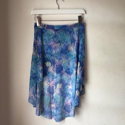 The Bela Mármore Curve Skirt - long