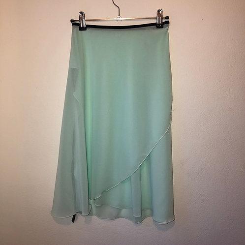 Peppermint Cream Wrap Skirt