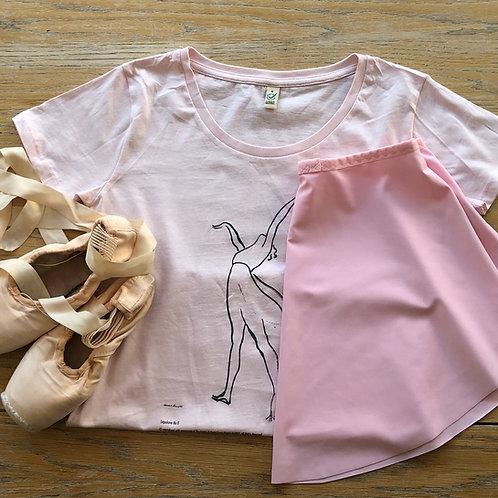 Lopokova No 8 T-shirt Pink