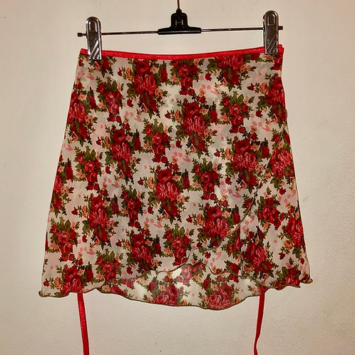 Rosa Rossa Wrap, Short, Small