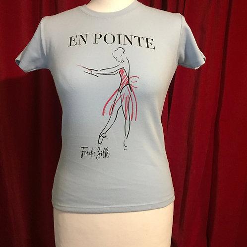 En Pointe Sky Blue T-shirt