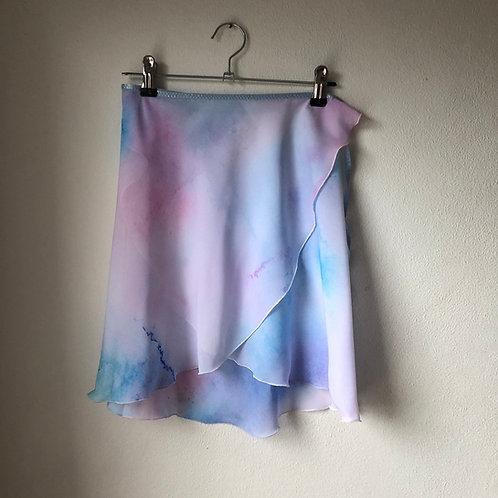 Ukiyo Watercolour Wrap Skirt