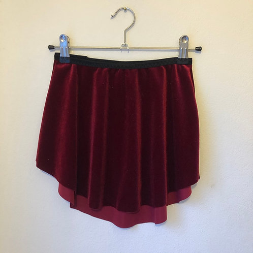 Berry SAB Smooth Velvet | narrow waistband
