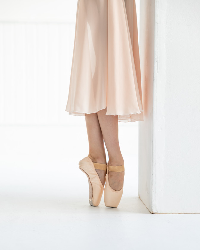 Pointe shoes Photographed by Holly Francesca