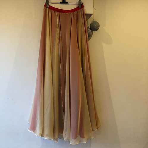Two Layer Aretha full length skirt