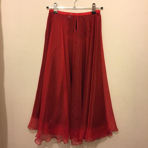 Poppy two layer circle skirt