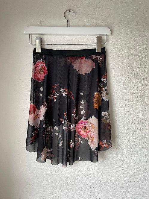 The Bela Flora Curve Skirt - mid