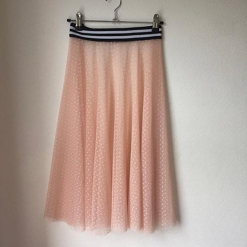 Dotty Blush Tulle Skirt