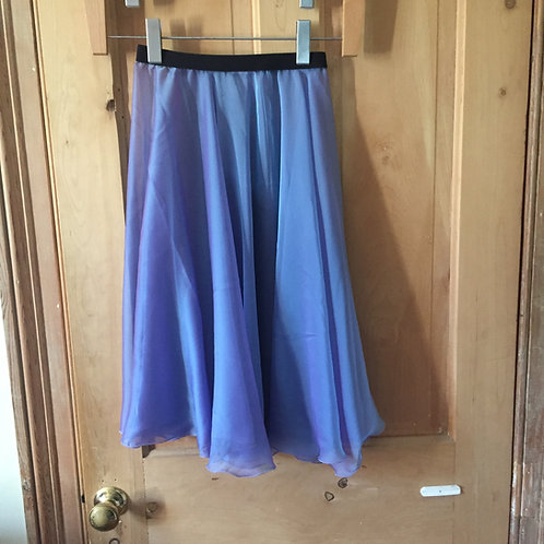 Circle Rehearsal Skirt Two Tone Irridescent