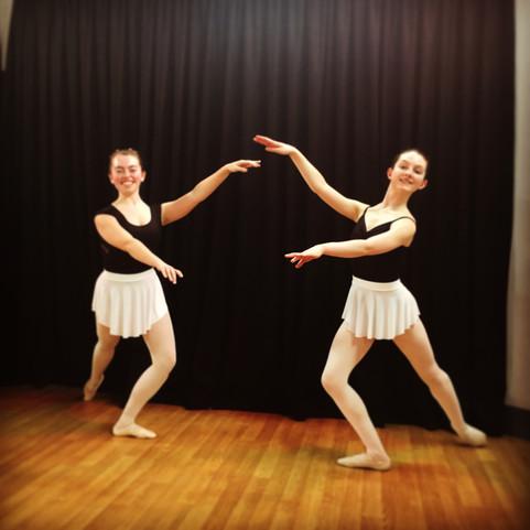 White Swish SABs skirts