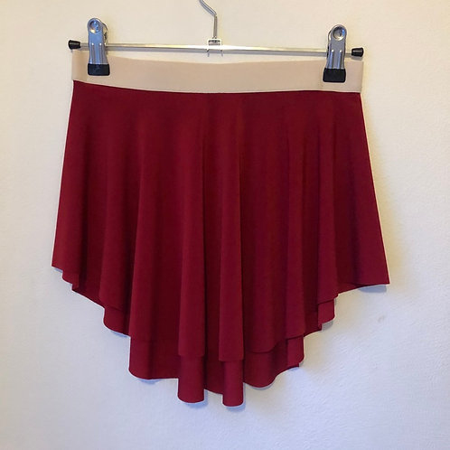 Red Matte Swish with elastic waistband