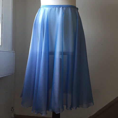 Circle Rehearsal Skirt Two Tone Bluebird