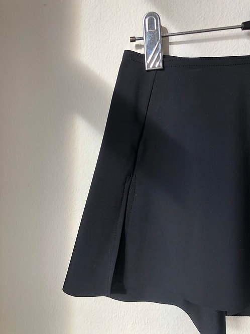 Splits eco SAB skirt Black