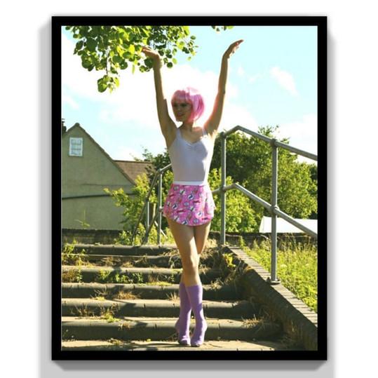 Comic Book Ballerina   Photo by Maisie Hamilton
