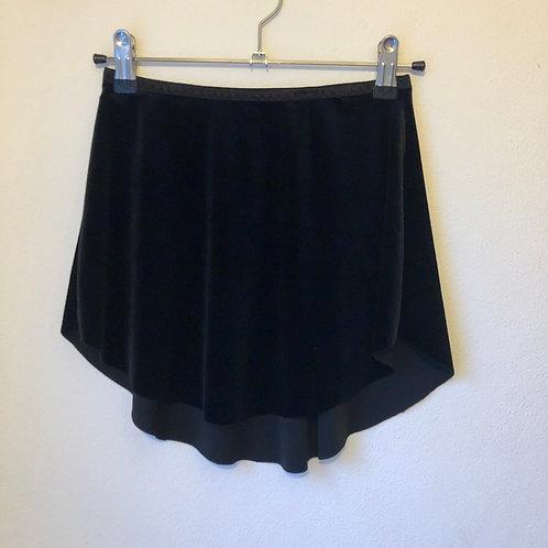 Black SAB Smooth Velvet | narrow waistband