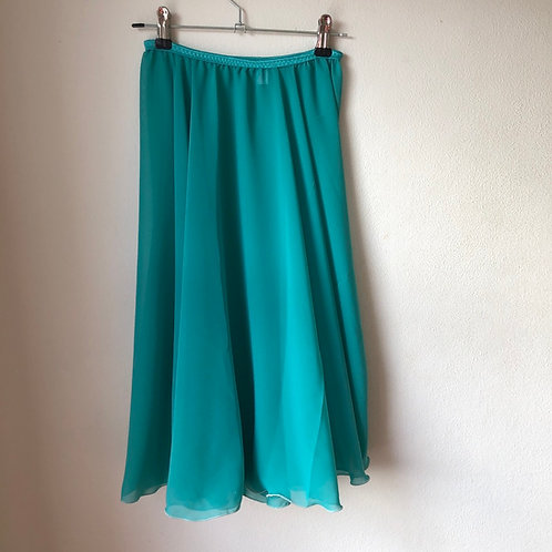 Circle Rehearsal Skirt Light Sea Green