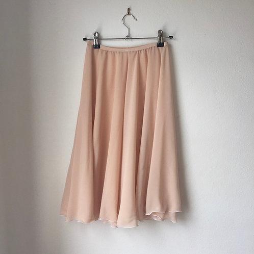 Circle Rehearsal Skirt Light Peach