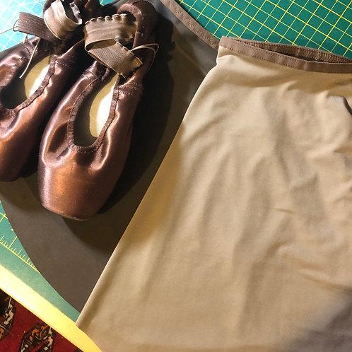 SAB Slim Nude Mocha narrow waistband