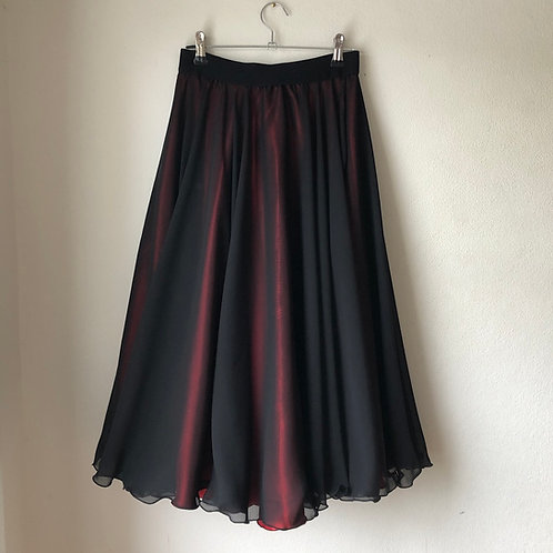 Two layer Etta midi length skirt