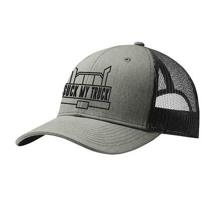 Grey/Black Logo Hat