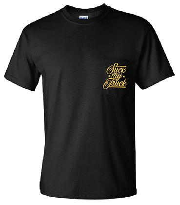 Cursive Pocket T-Shirt
