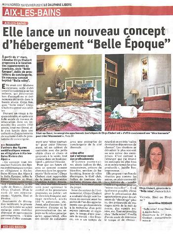 Projet Belle Reine Belle epoque