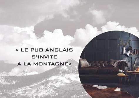 Le pub anglais à la montagne