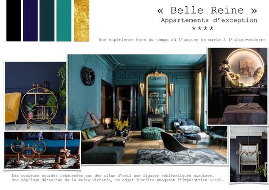 Moodboard Belle Reine