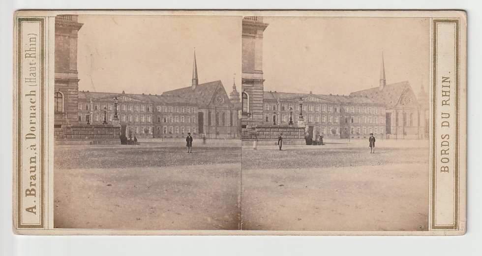 Stereoview of Leipzig, Germany by Adolphe Braun c.1865/70