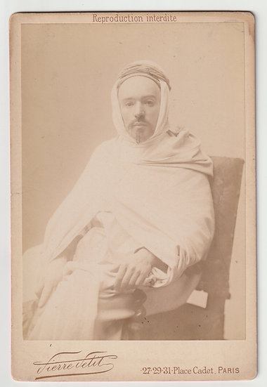 Philippe Grenier - first Muslim member of the French Parliament - Pierre Petit